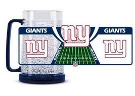 Duck House Sports NFL New York Giants Crystal Freezer Mug 5368 - $16.69