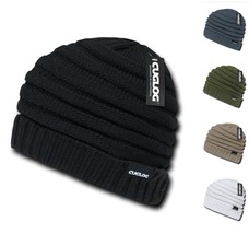 Cuglog By Decky Etna Knit Ribbed Slouchy Winter Beanie Cap Hat K013 - $13.99