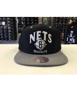 Mitchell & Ness NBA Brooklyn Nets Grand Arch Two Tone Snapback OSFA #12569 - $23.26