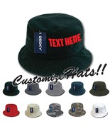 CUSTOM EMBROIDERY Personalized Customized Decky Fishermen's Polo Bucket ... - $17.59+