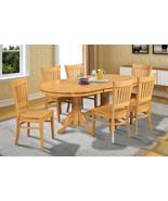 "SOMERVILLE DINETTE DINING ROOM TABLE SET 42""X78"" W. WOODEN SEATS IN OAK ... - $689.85+"