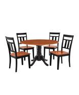 "42"" BURLINGTON DINETTE DINING TABLE SET WITH 9"" DROP LEAF IN BLACK CHERRY - $354.37+"