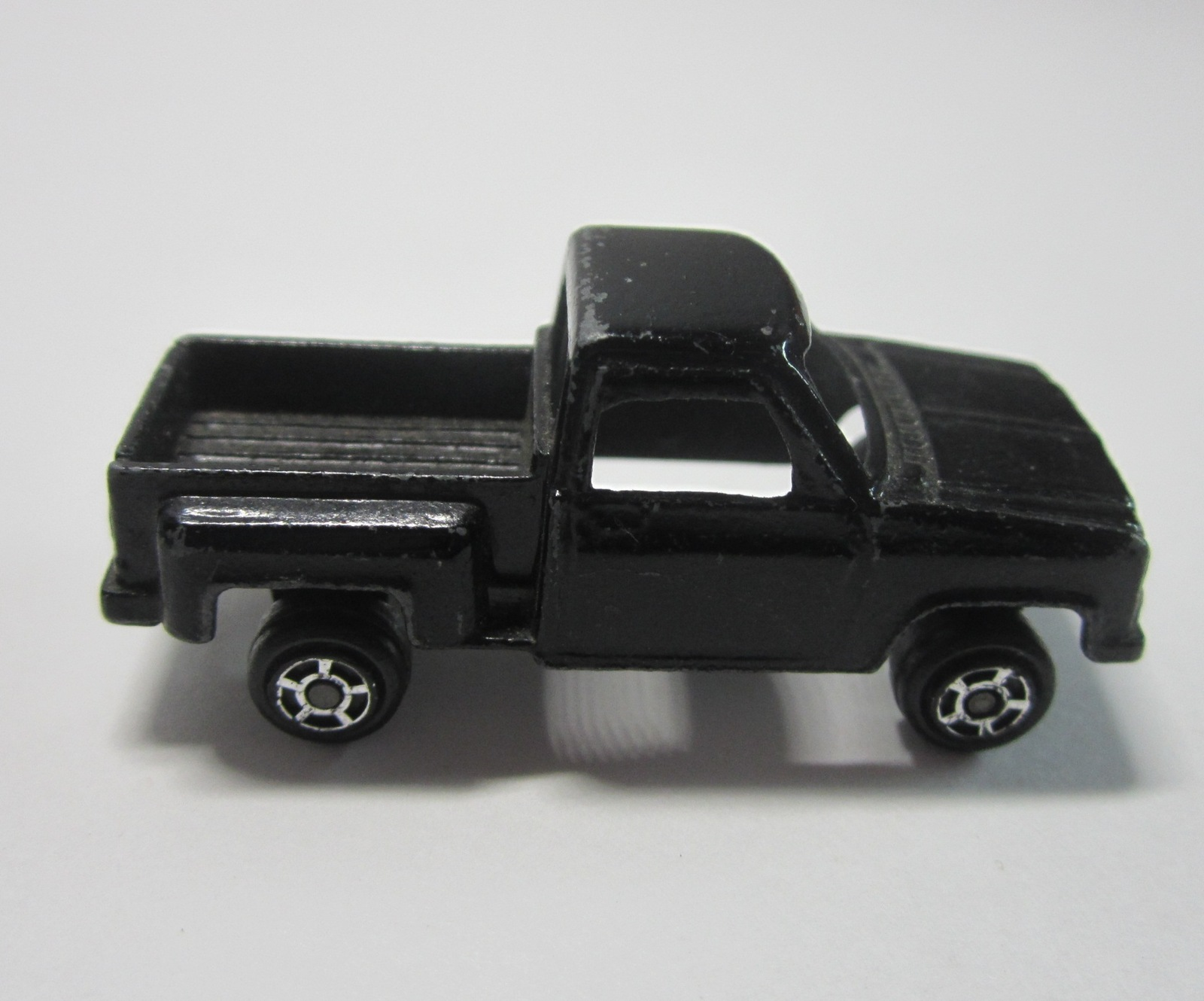 Vintage 1970's Black TootsieToy Chevy Step-Side Pickup Truck
