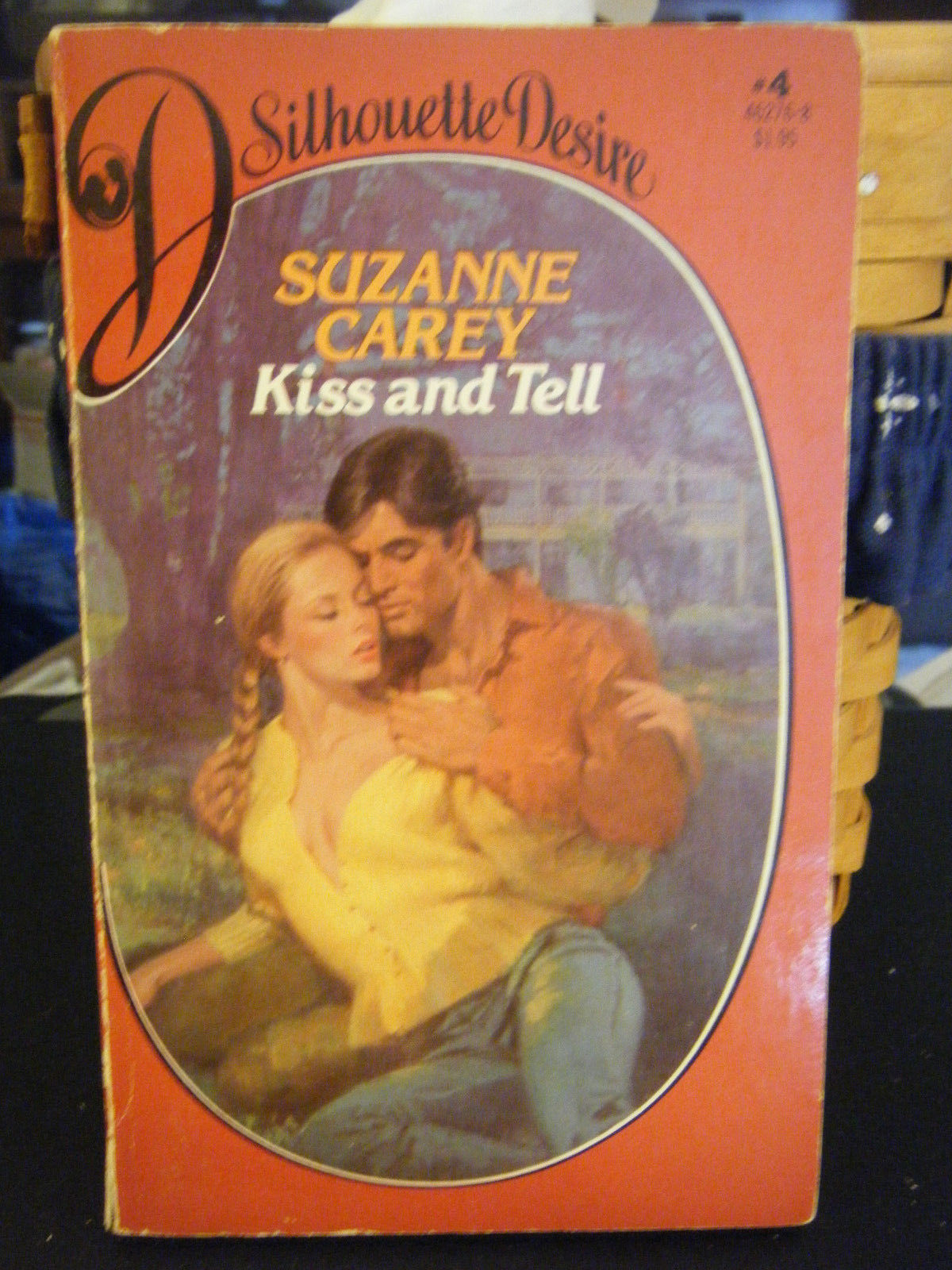 Kiss and Tell by Suzanne Carey (1982, Paperback)