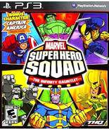Marvel Super Hero Squad: The Infinity Gauntlet (Sony PlaySation 3, 2010) - $18.95