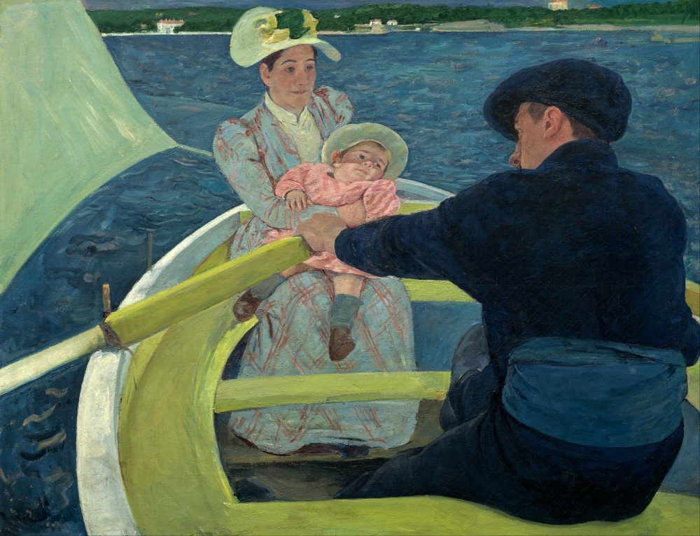 Roshni Arts - Famous Masterpieces 100% Hand Painted Oil on Canvas - Cassatt ...