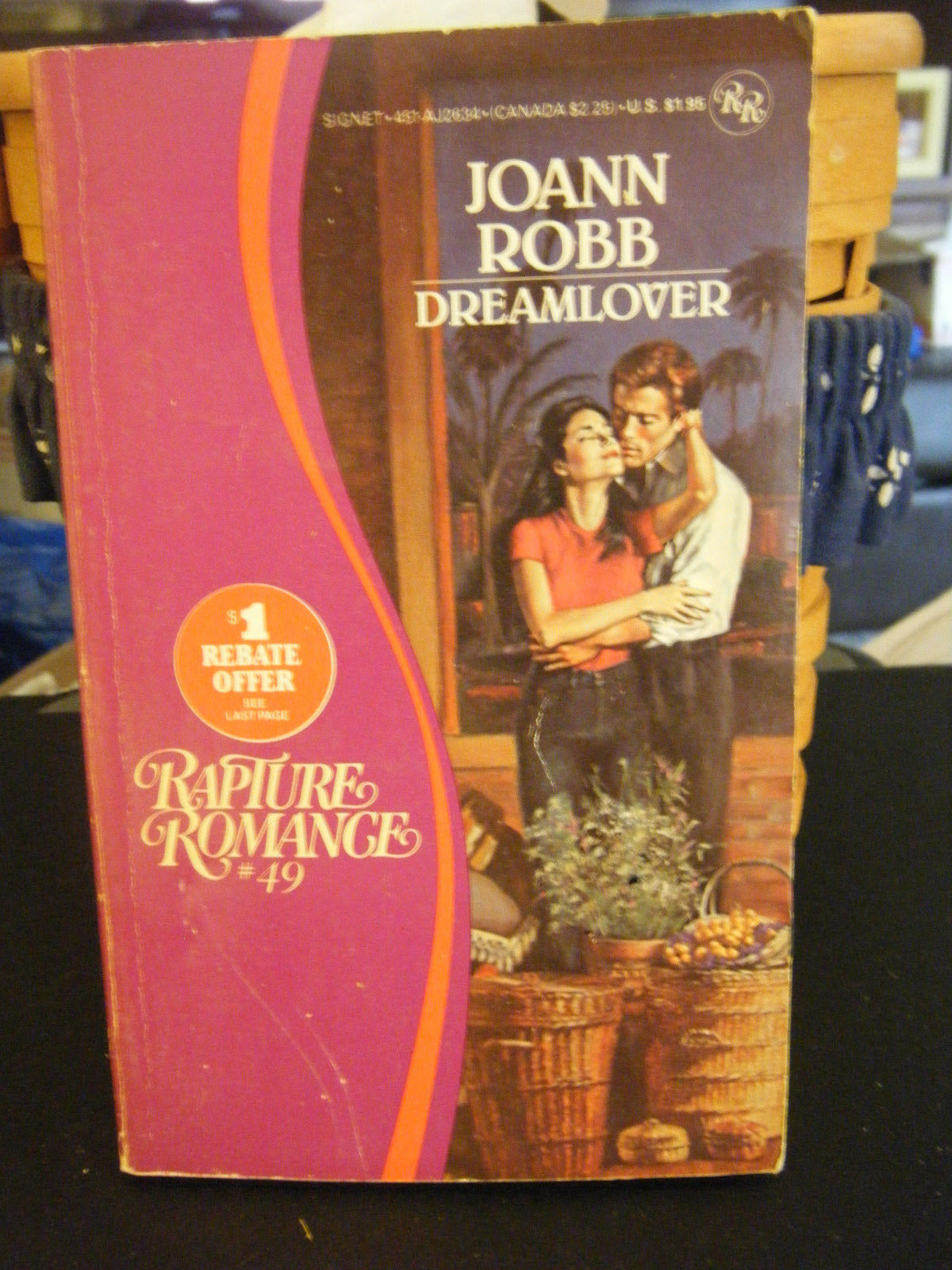 Dreamlover by JoAnn Robb (1984, Paperback)