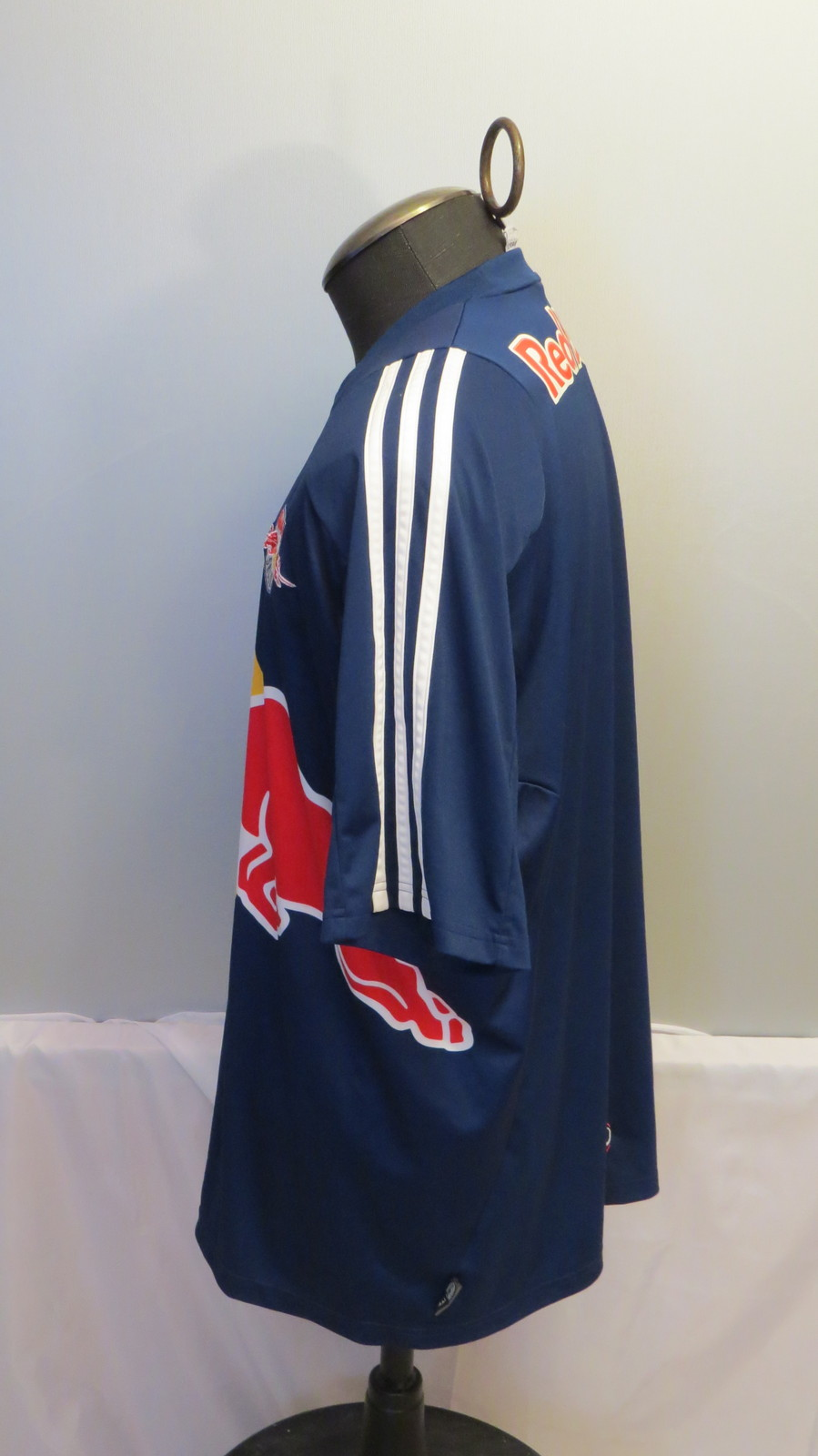 Salzburg FC Jersey - Red Bull 2006 Away Blue - By Adidas - Men's Extra Large