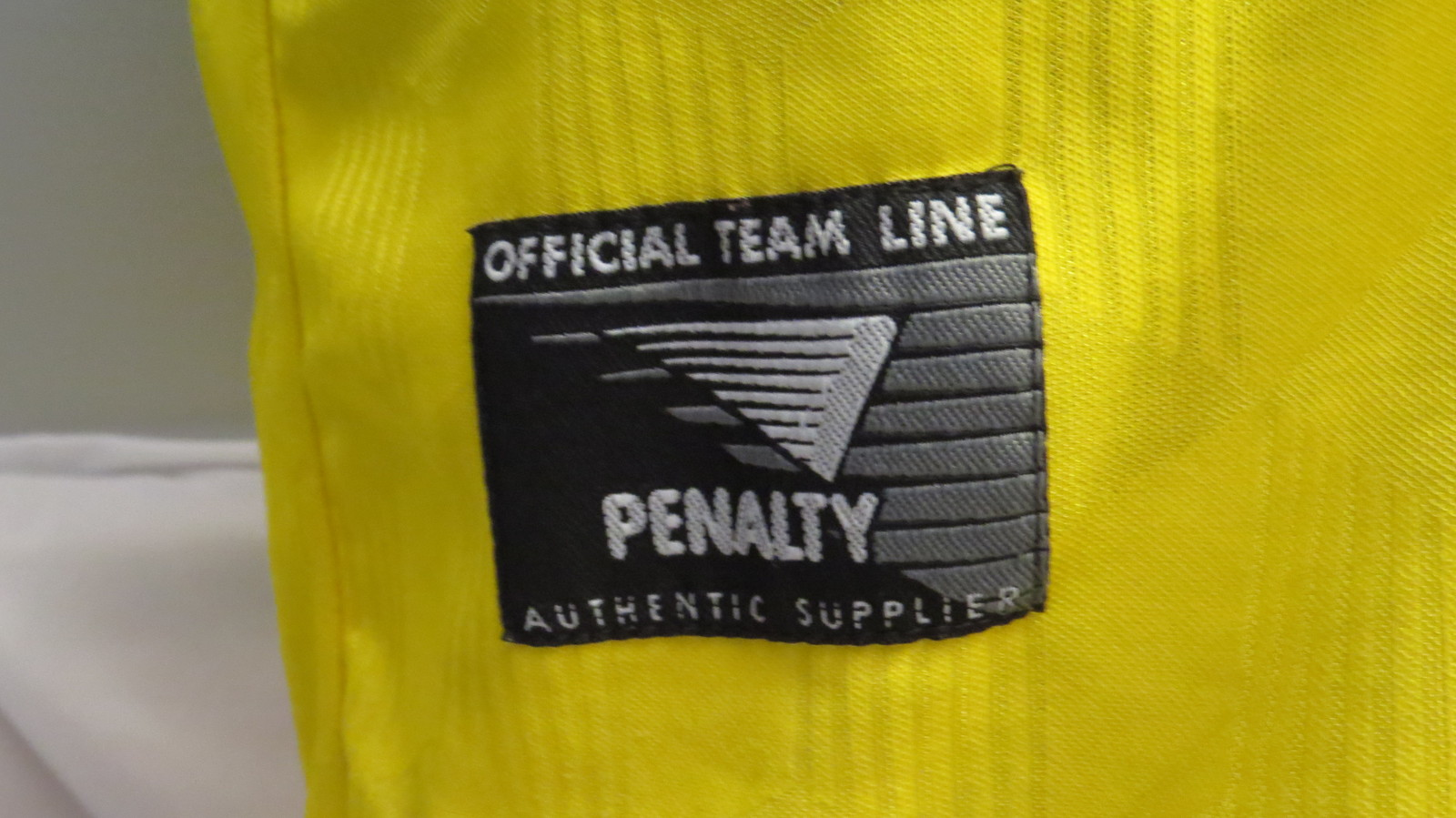 Team Brasil Futsal Jersey (Indoor Soccer) - By Penatly Brazil (VTG)- Mens Large