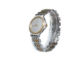Auth Dunhill Elite 12 Point Dia Stainless Steel Quartz Unisex Watch DW17... - $240.87