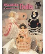 Bath Tissue Cover Dolls, Annie's Attic Plastic Canvas Pattern Booklet 87... - $4.95
