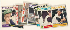 1964 Topps baseball cards. 9 pc lot. NICE condition ! - $3.99