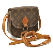LOUIS VUITTON Monogram Saint Cloud PM Shoulder Bag M51244 Auth 10717 Sticky - $373.23