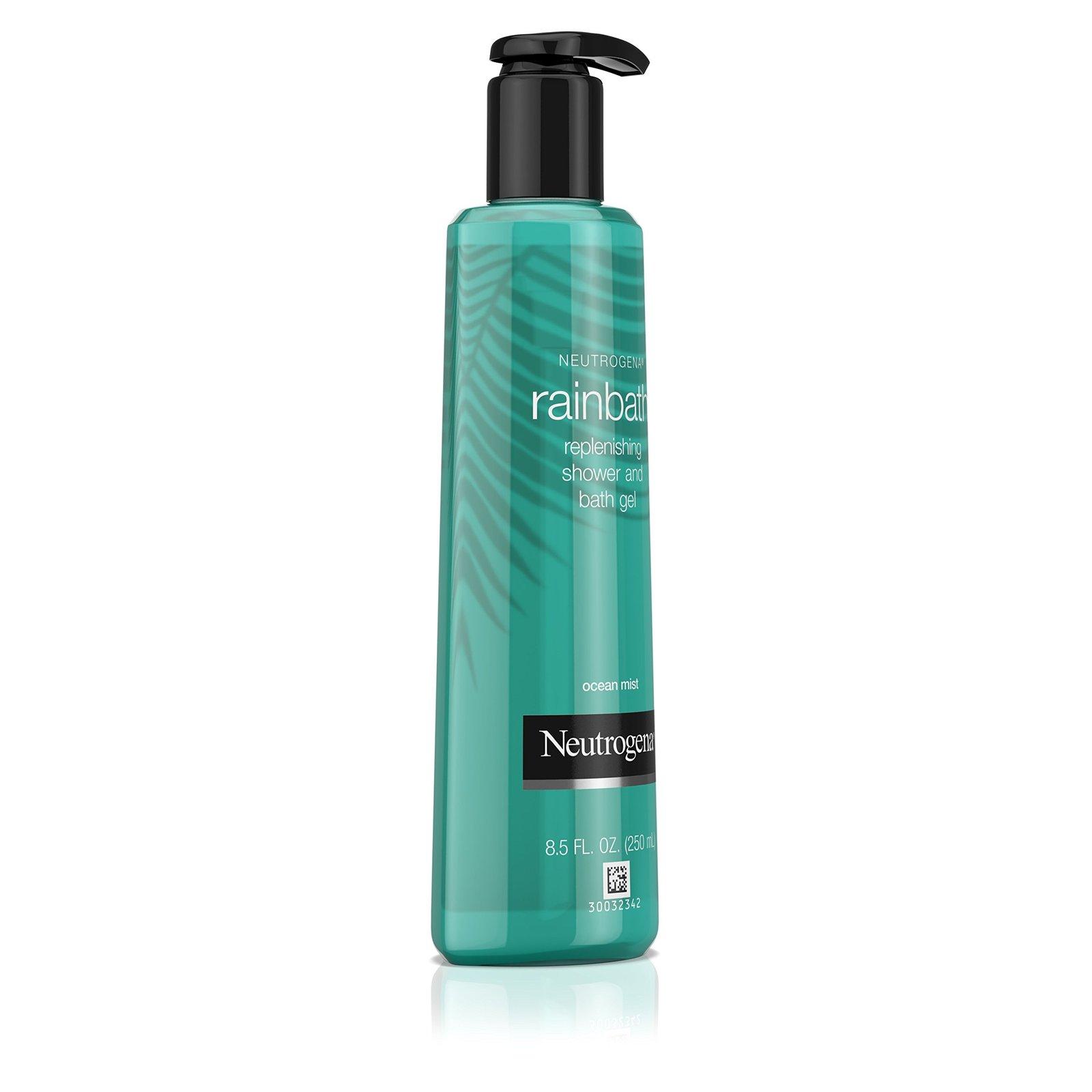 Neutrogena Rainbath Replenishing and Cleansing Shower and Bath Gel, Moisturizing