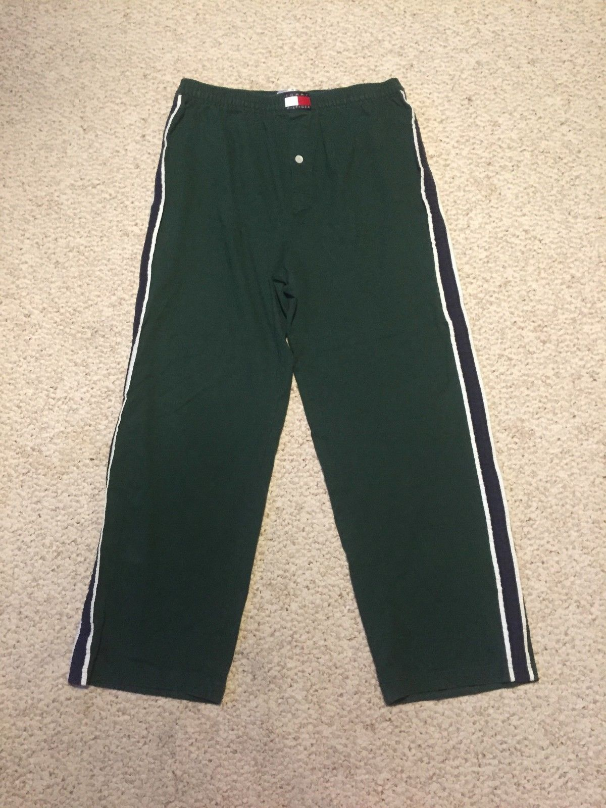 XL Tommy Hilfiger Green Sleepwear Sweat Pants