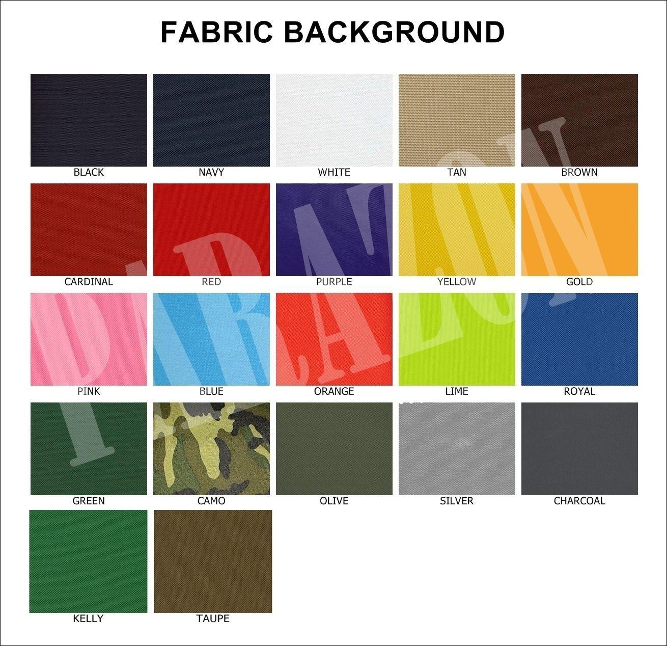 "Custom Embroidery Rockers Ribbon, Name & MC Biker Set Sew on Patch 11"" (E-2)-4PC"