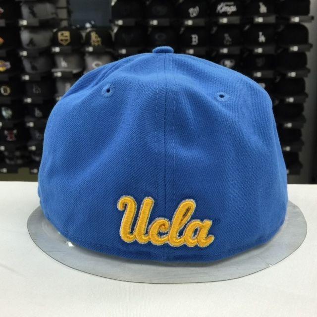 New Era 59Fifty UCLA Fitted Sky Yellow Baseball Cap Hat
