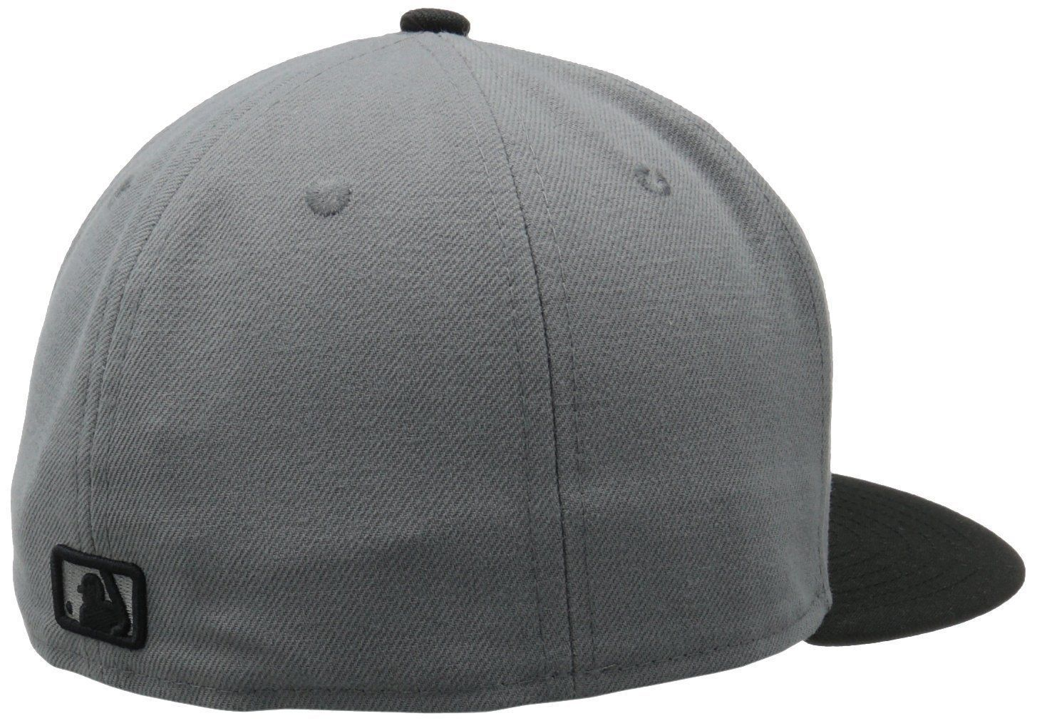 New Era 59Fifty MLB New York Yankees Storm Gray/Black  Baseball Fitted Cap Hat