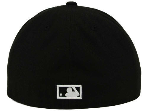 New Era 59Fifty MLB Houston Astros Black and White Fitted Cap