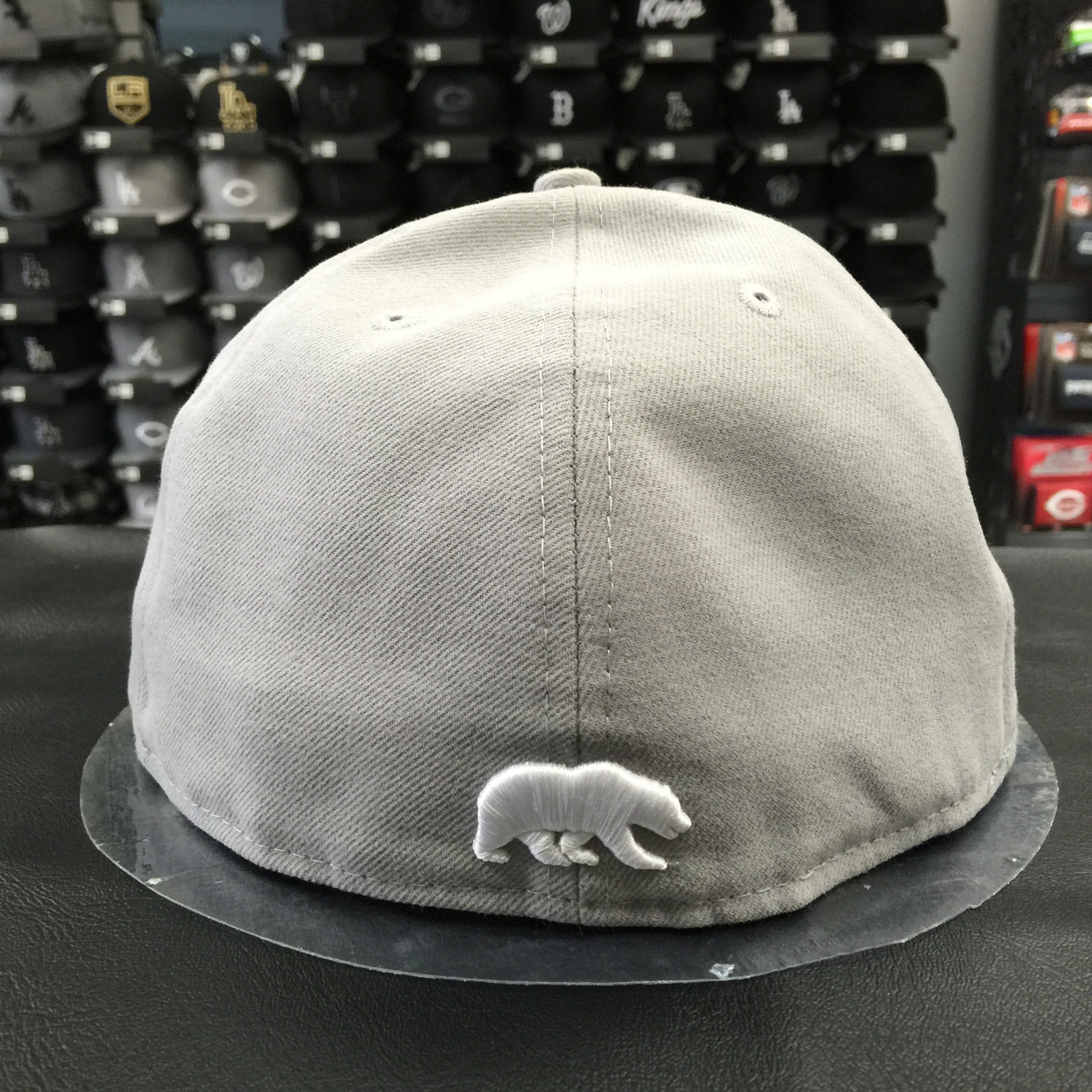 New Era 59Fifty California Golden Bear Gray NCAA Fitted Cap-Baseball Cap