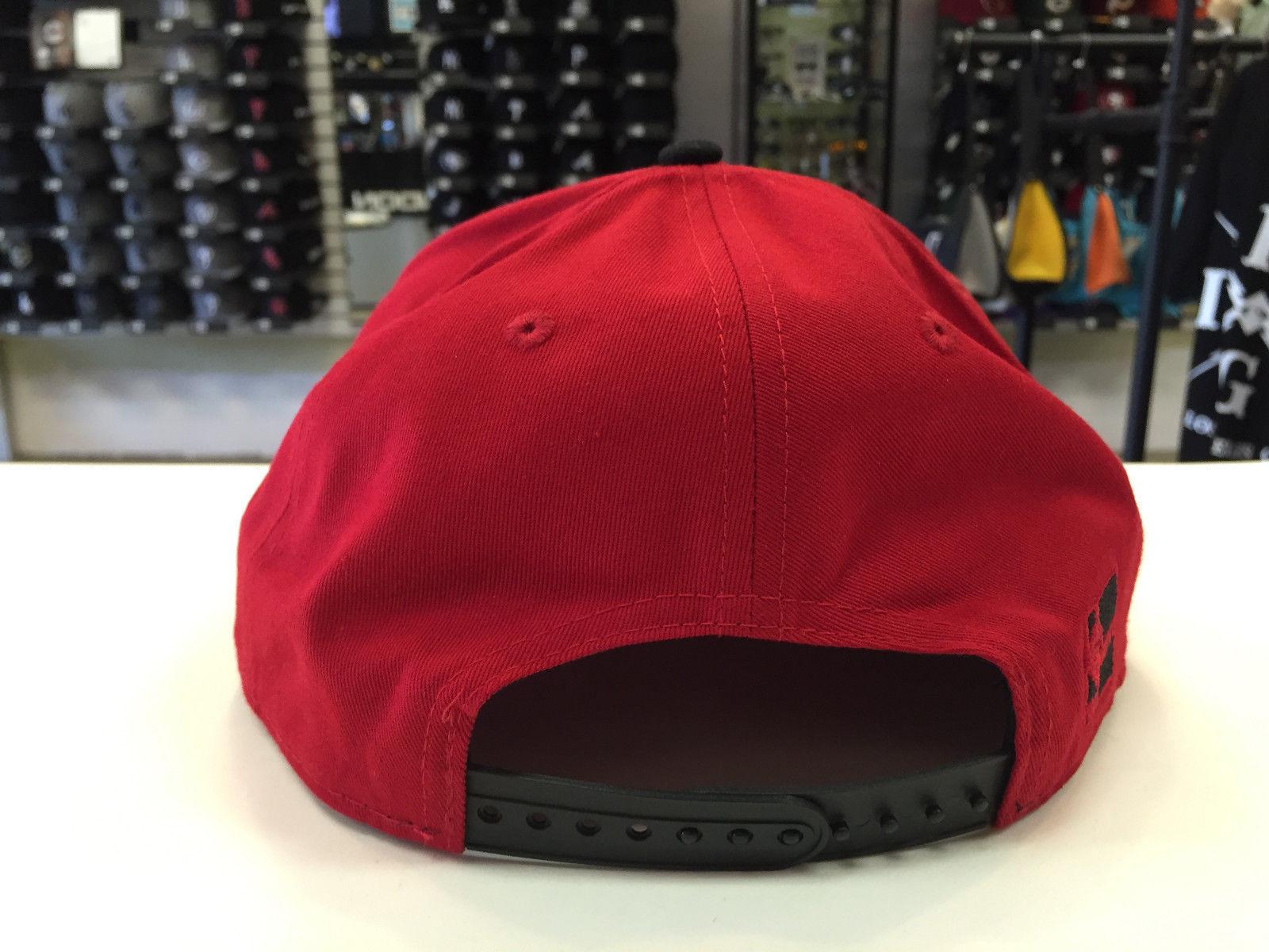 New Era 9FIFTY NBA Miami Heat Pinna Snapback Cap Hat #6556