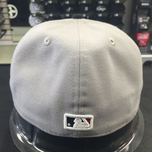 New Era 59Fifty MLB Washinton Nationals White Front Gray Fitted Cap