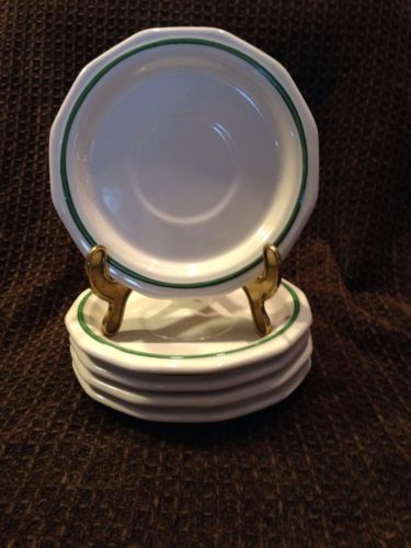 Pfaltzgraff  Hertitage Christmas Saucers Set Of 5