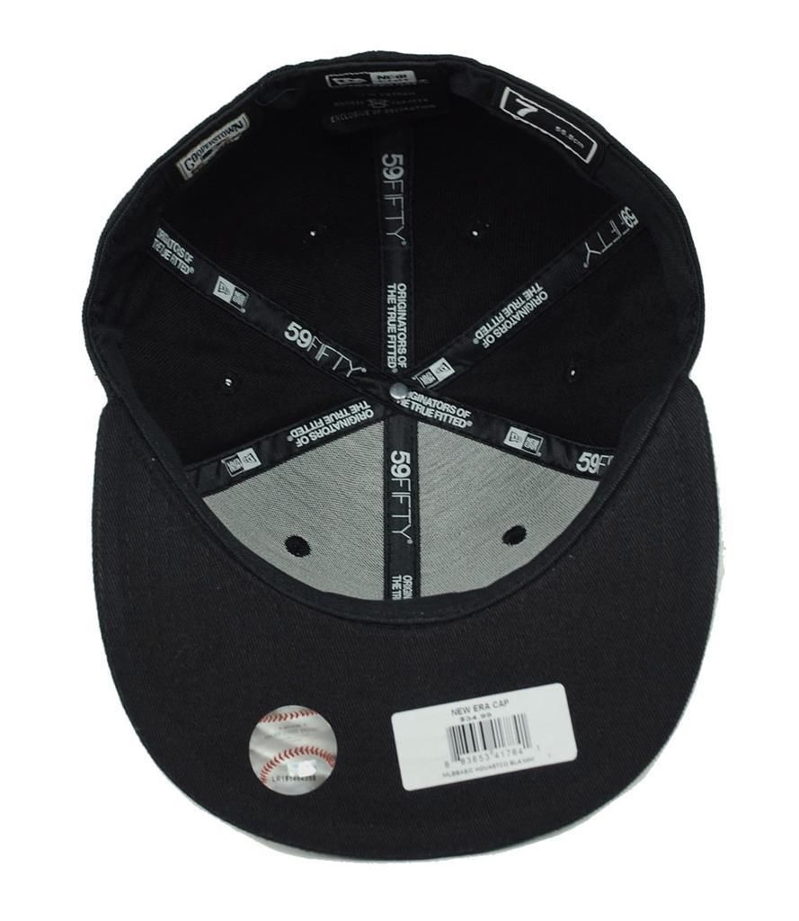 New Era 59Fifty MLB San Diego Padres Black White Fitted Cap