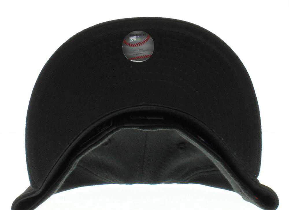 New Era 59Fifty MLB Los Angeles Dodgers Black White Fitted Cap