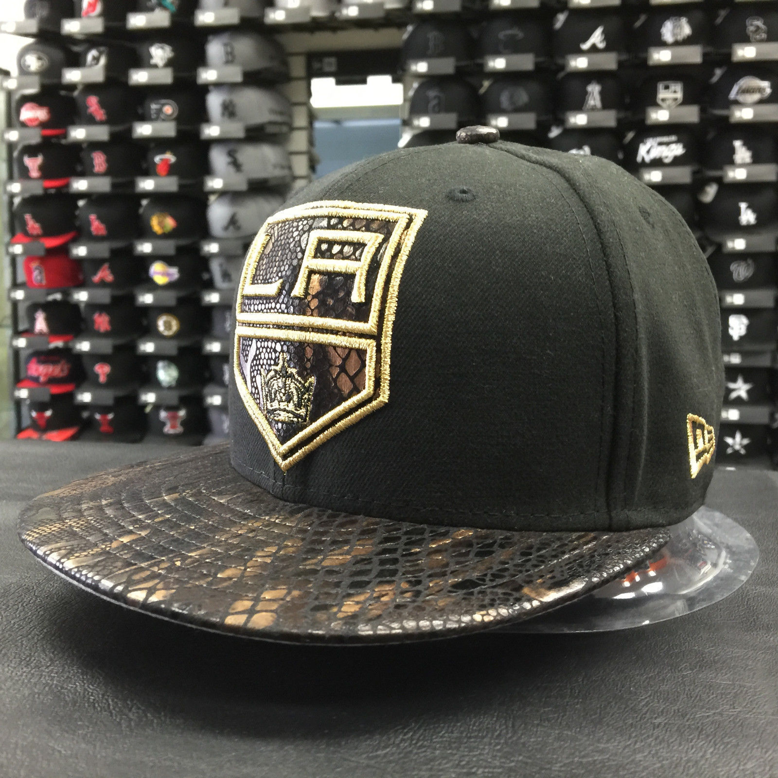 New Era 59Fifty MLB Los Angeles Kings Snakeskin Fitted Cap
