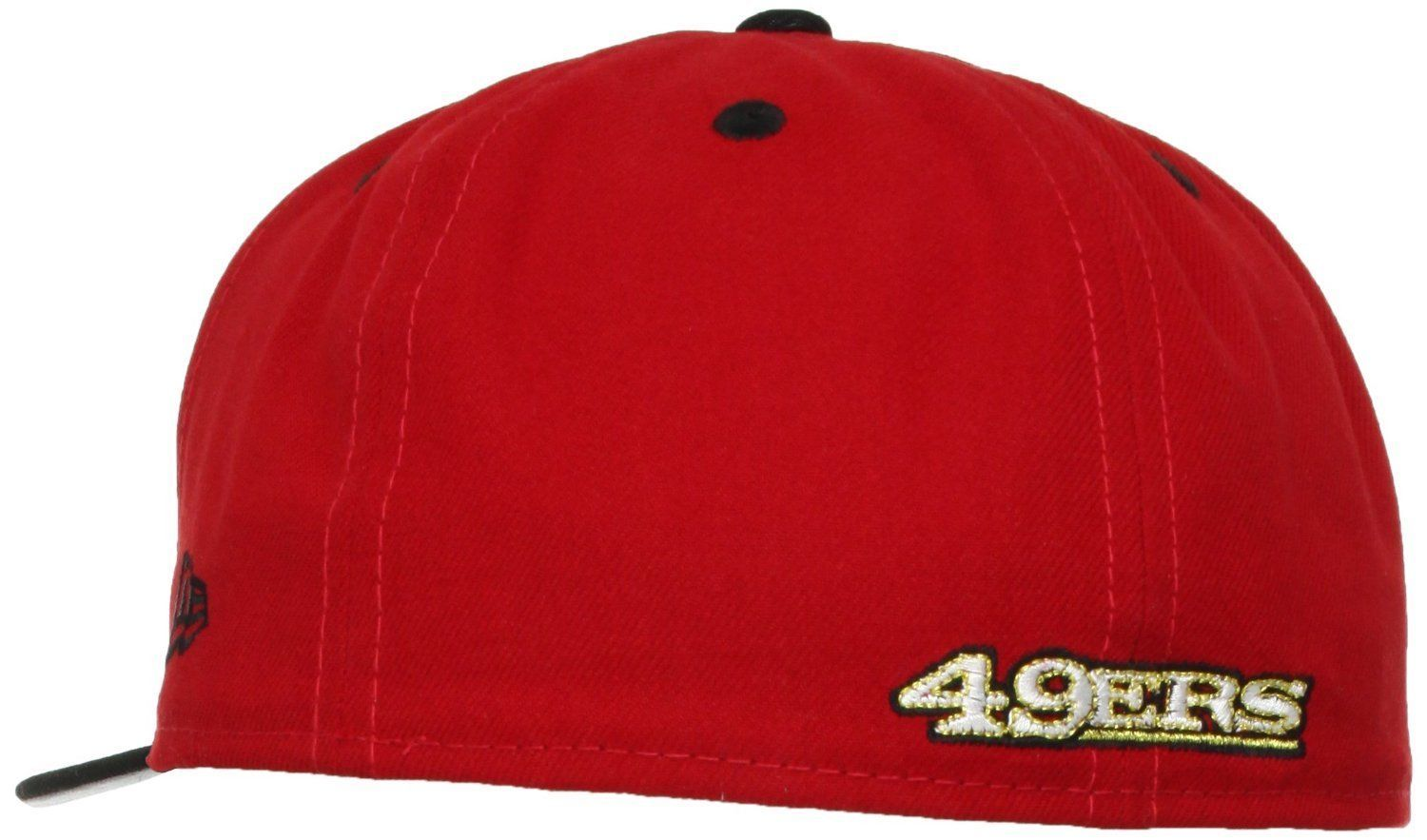 New Era 59Fifty NFL San Francisco 49ers 2 Tone Red/Black Fitted Cap