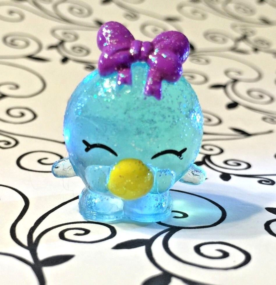 Shopkins Season 4 Food Fair Exclusive Ultra Rare Bubbles Blue