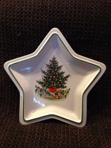 Pfaltzgraff  Plate Hertitage Christmas Tree Star Dish