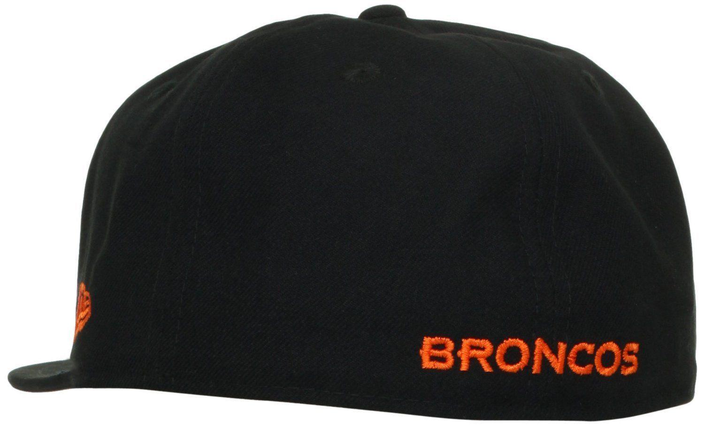 New Era 59Fifty NFL Denver Broncos Black Fitted Cap