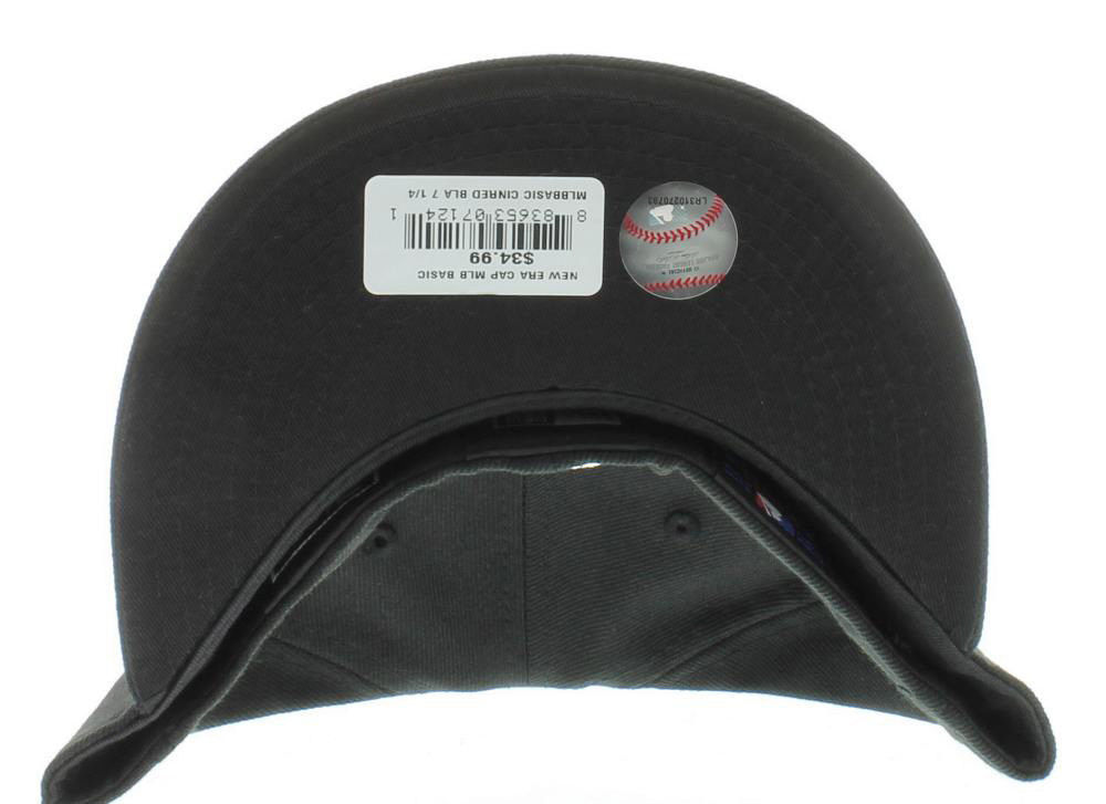 New Era 59Fifty MLB Cincinatti Reds Black White Fitted Cap