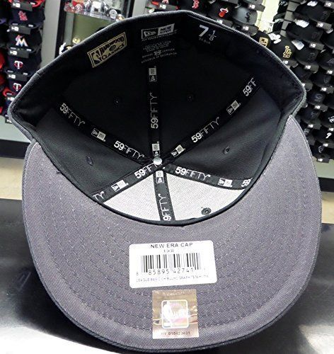 New Era 59Fifty NBA Chicago Bulls Graphite Fitted Cap