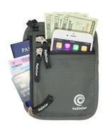 Travel Wallet and Passport Holder Neck Pouch -RFID Blocking Neck Wallet  - $13.98