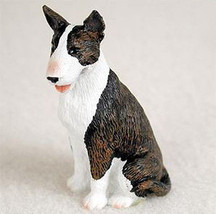 BULL TERRIER (BRINDLE) TINY ONES DOG Figurine Statue Pet Lovers Gift Resin - $8.99