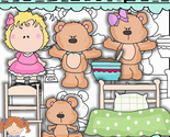 Goldie and the bears clip art thumb155 crop
