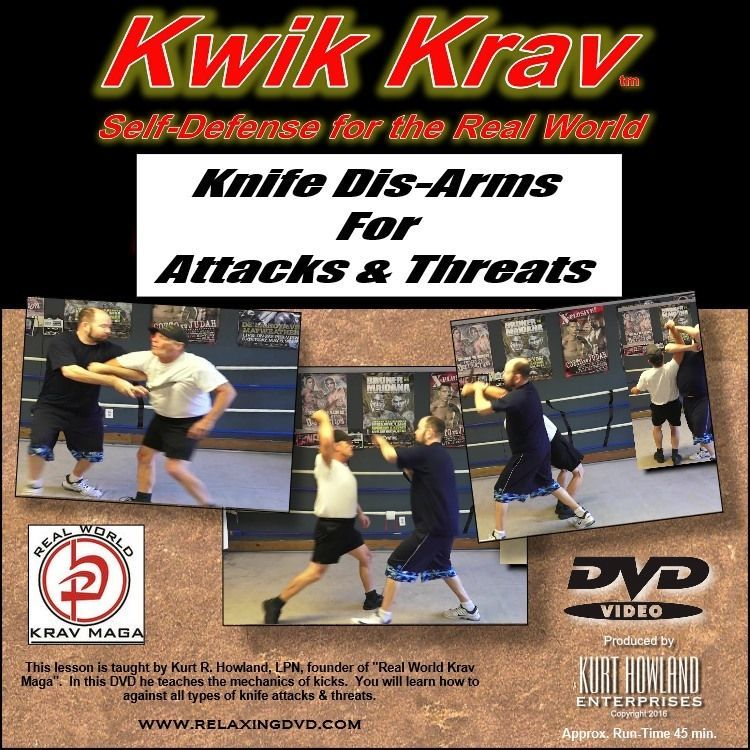 """KRAV MAGA 10 Disk Set"", everything you need for Simple & Easy Self Defense."