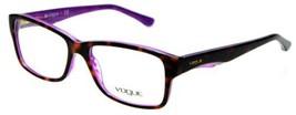 Authentic Vogue Eyeglasses VO2883 2019 Havana Violet Frames 53MM Rx-ABLE - $58.80