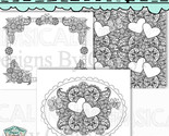Butterfly garden coloring pages thumb155 crop