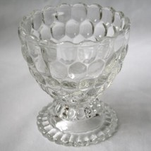AVON Bubble Clear Glass Footed Candy Dish  #370 - $20.00