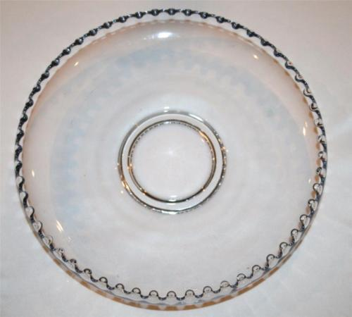 "IMPERIAL GLASS CANDLEWICK Clear Elegant 11"" Float Bowl  #1098"