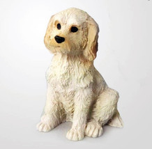 LABRADOODLE TINY ONES DOG Figurine Statue Pet Lovers Gift Resin Cream - $8.99