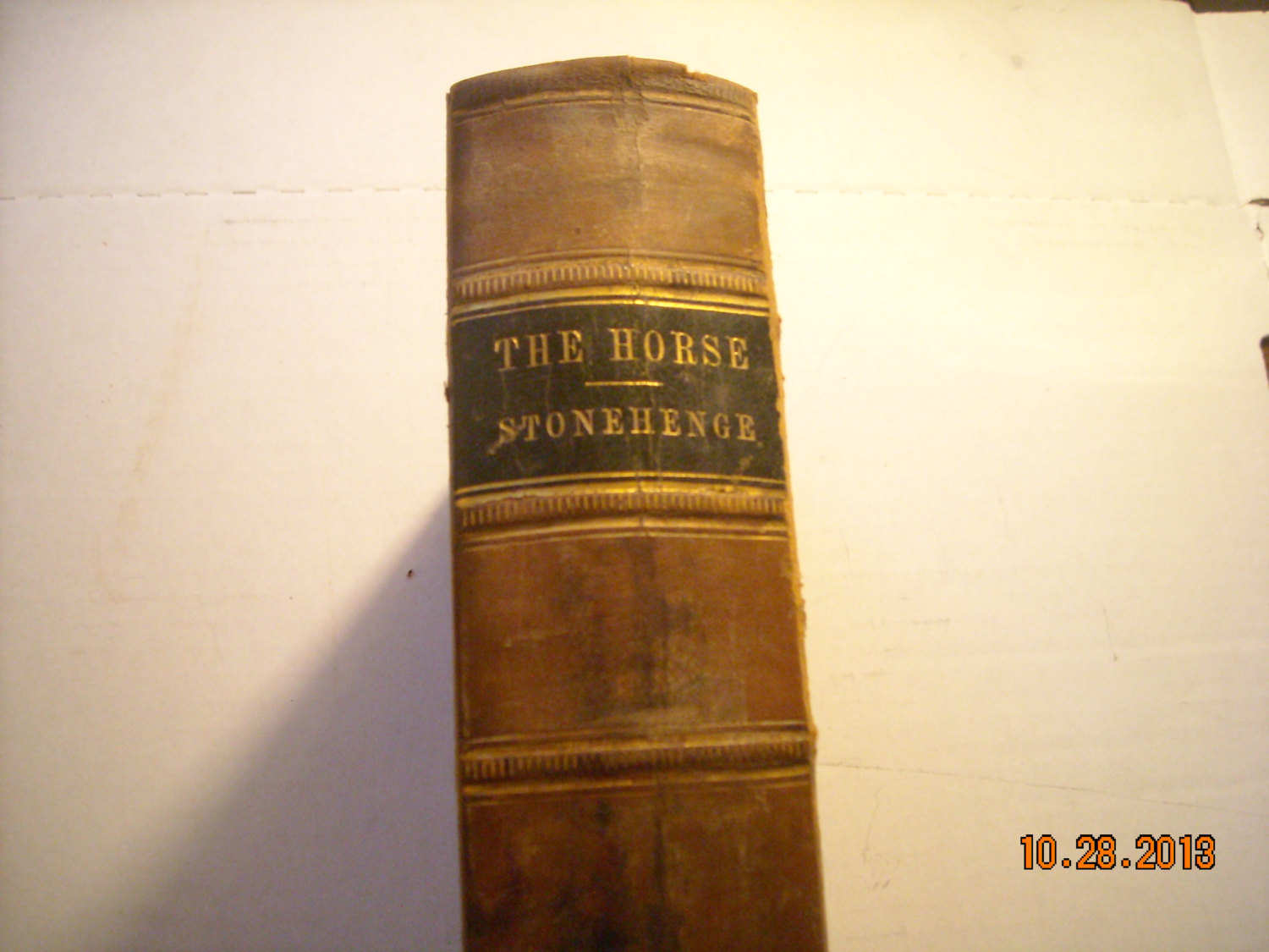 The Horse   in the stable and field  1861 by J.H. Walsh  170 engravings 605 page