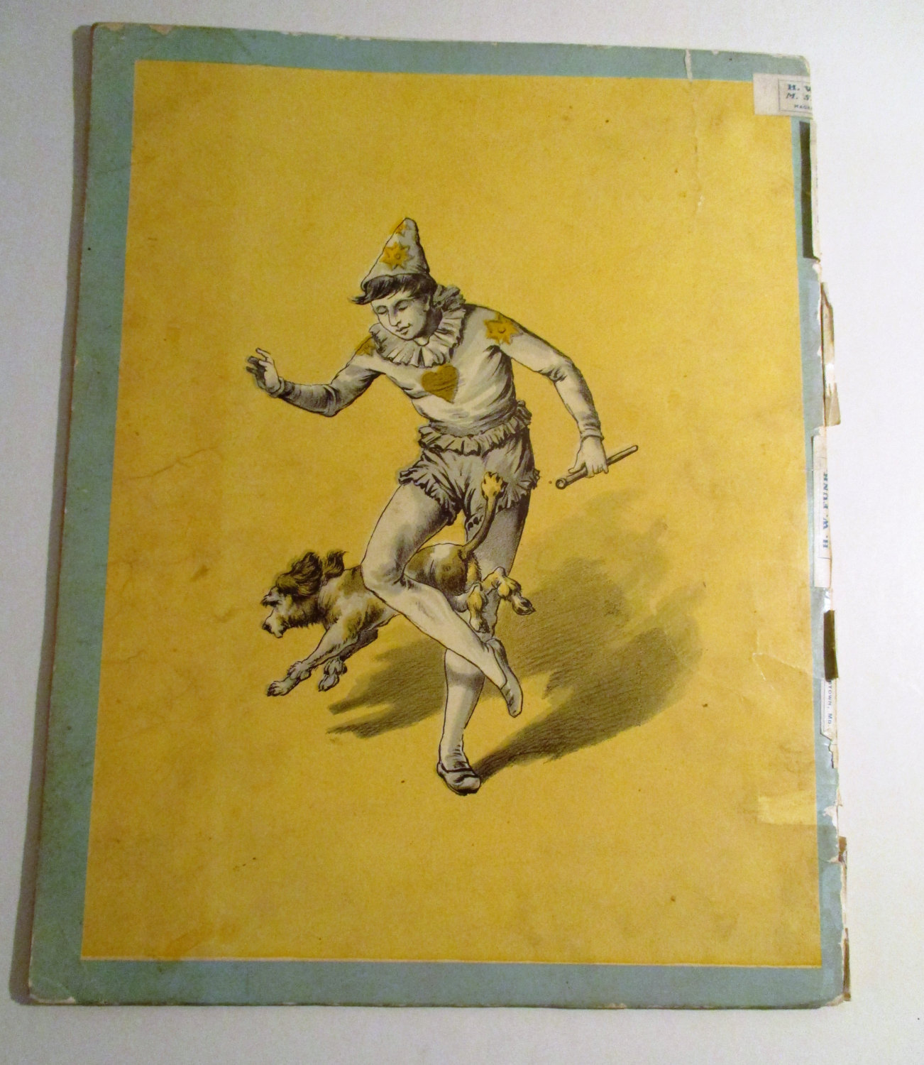 The Wonderful Performing Dogs  - Circus Stories- 1883 - McLoughlin Bro's  New-Yo