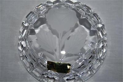 BLEIKRISTALL WINTERHALDER 24% Lead Crystal Covered Trinket Box #527