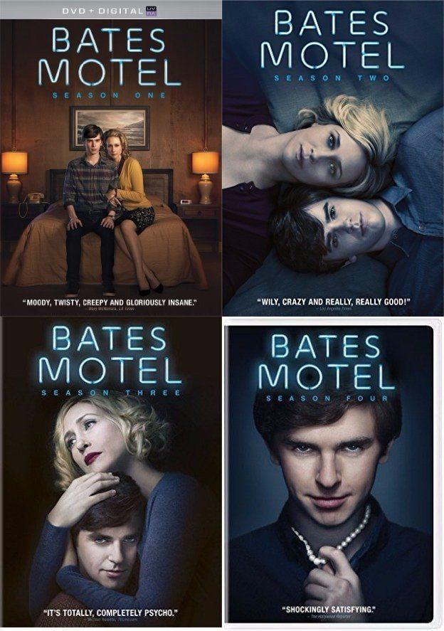 Bates Motel - The Complete Seasons 1-4 (DVD Set) 1 2 3 4 TV Series Show