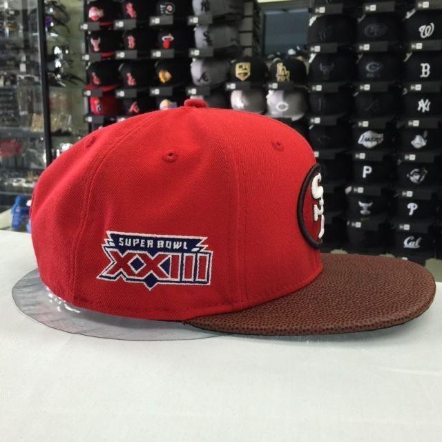New Era 9FIFTY NFL San Francisco 49ers Crimson Snapback Cap Hat 12054